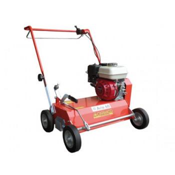 Aerator pentru iarba si gazon CARAVAGGI ARIO 60, motorizat, 6,5 CP