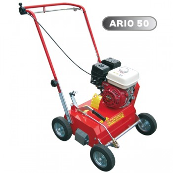 Aerator pentru iarba si gazon CARAVAGGI ARIO 50, motorizat, 4,6-5,5 CP