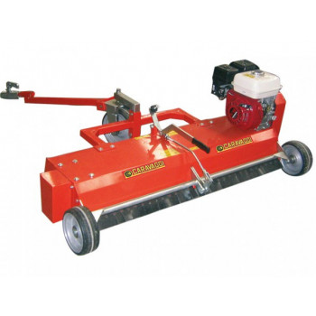 Aerator pentru iarba si gazon CARAVAGGI ARIO 100 motorizat, 6,5 CP