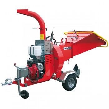 Tocator crengi CARAVAGGI BIO 230, motorizat, 12-15 CP