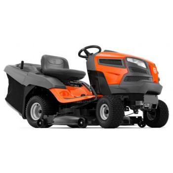 Tractoras de gradina HUSQVARNA TC 142 T, benzina, hidrostatic, 12v, 14.8 CP